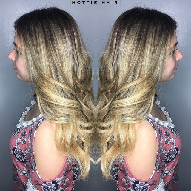 Highlights Archives Hottie Hair Extensions Blog Halo Tape In